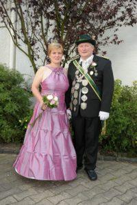 Königspaar 2008-2009 Martin & Andrea Uckelmann
