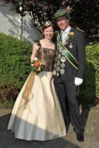 Königspaar 2009-2010 Ralf & Constanze Butzmann