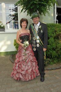 Königspaar 2010-2011 Peter & Gerda Krai