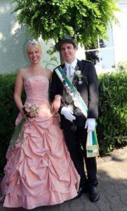 Königspaar 2013-2014 Louis Schilling & Laureen Wunsch