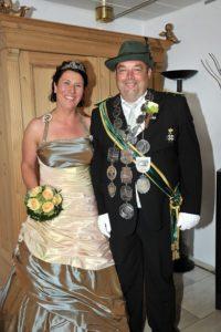 Königspaar 2012-2013 Axel Schulte & Susanne Donner-Schulte